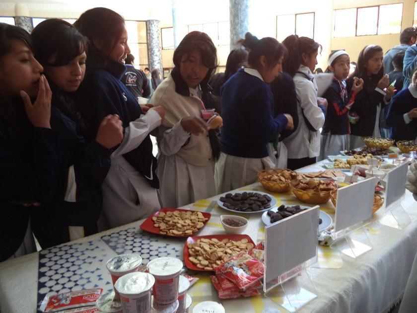 Capacitan acerca del  desayuno de estudiantes