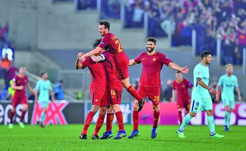 Roma elimina a Barcelona