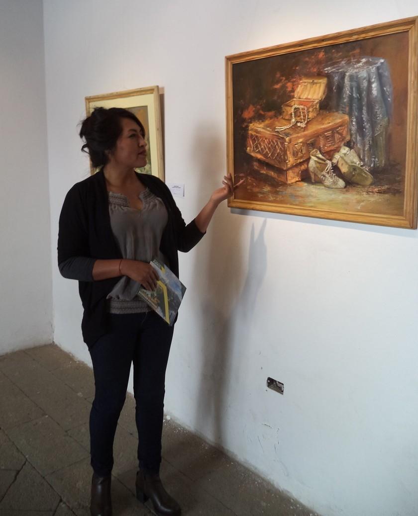 Abre muestra individual de la artista Rosaura Condori