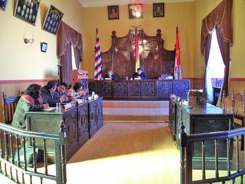 Concejo aprueba informes pero elección de vicepresidencia sigue pendiente