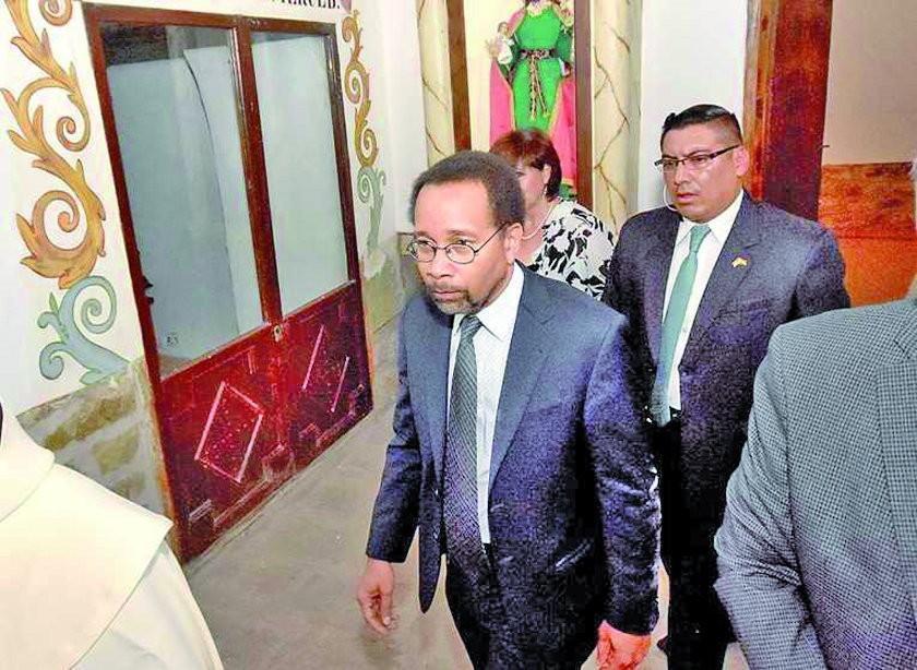 La Conalcam pide que el encargado de negocios  de EE.UU. sea expulsado