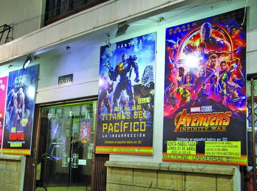 Venden entradas para Vengadores