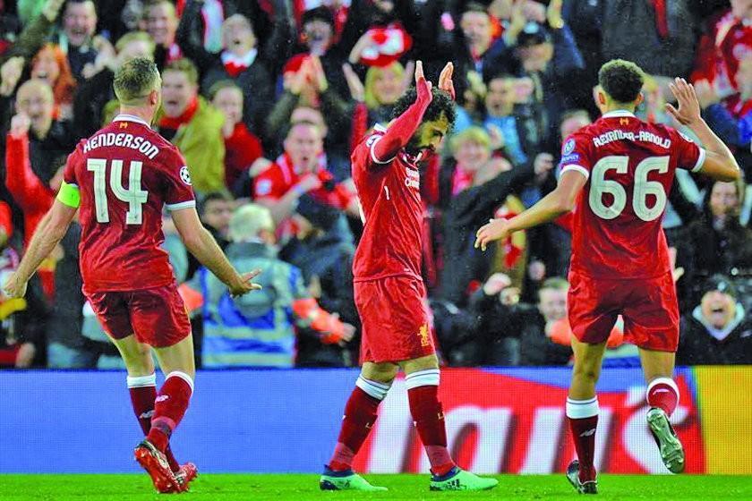 Liverpool golea 5-2 a Roma