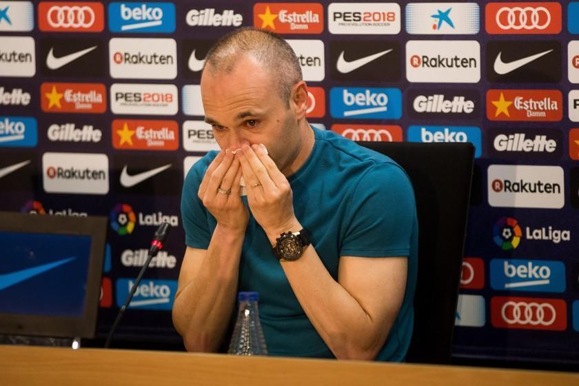Andrés Iniesta anuncia que dejará el Barza