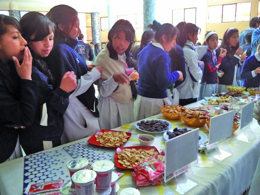 Alcaldía controla la distribución del desayuno escolar