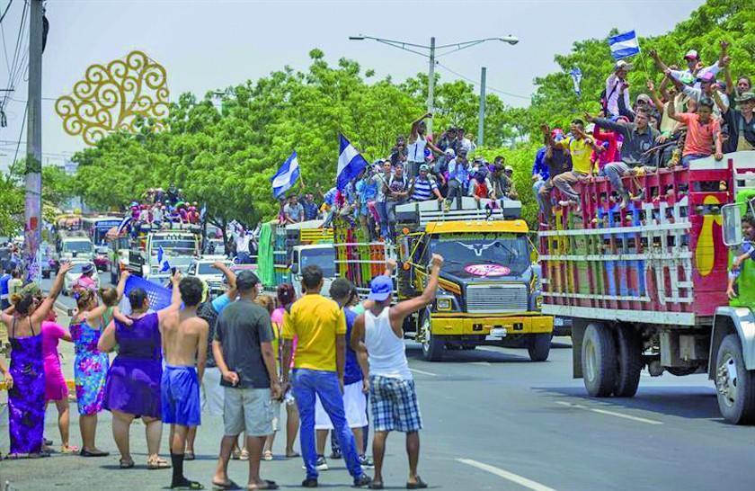 Los campesinos de Nicaragua se movilizan contra Daniel Ortega