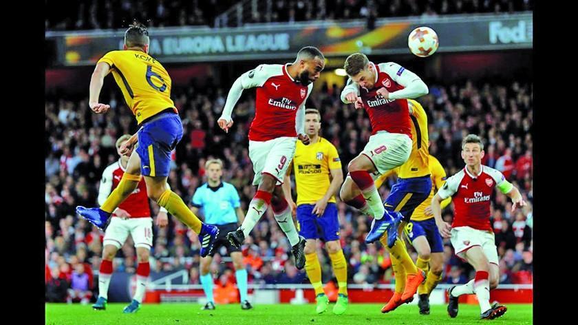 Atlético y Arsenal buscan su pase