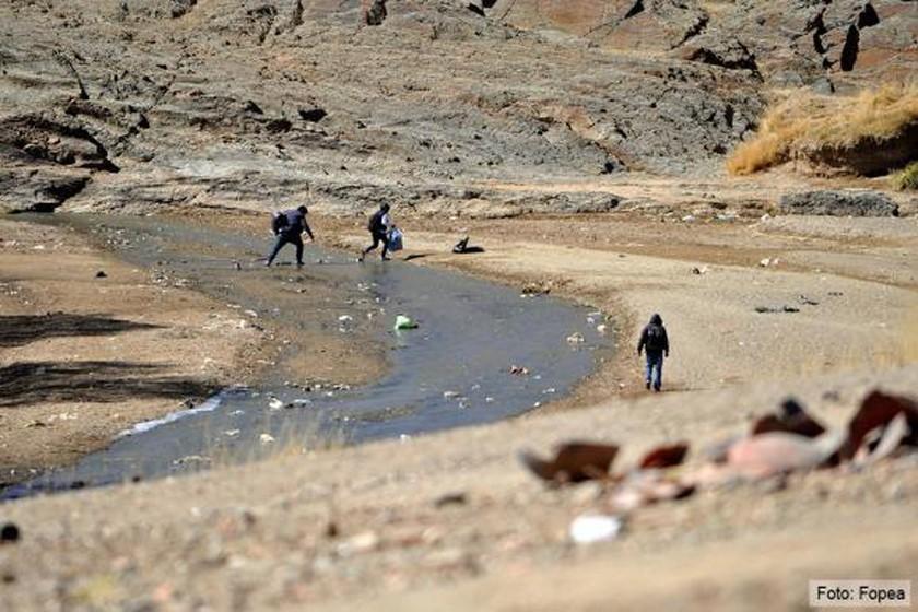 Preven limpieza del puente internacional hacia Argentina