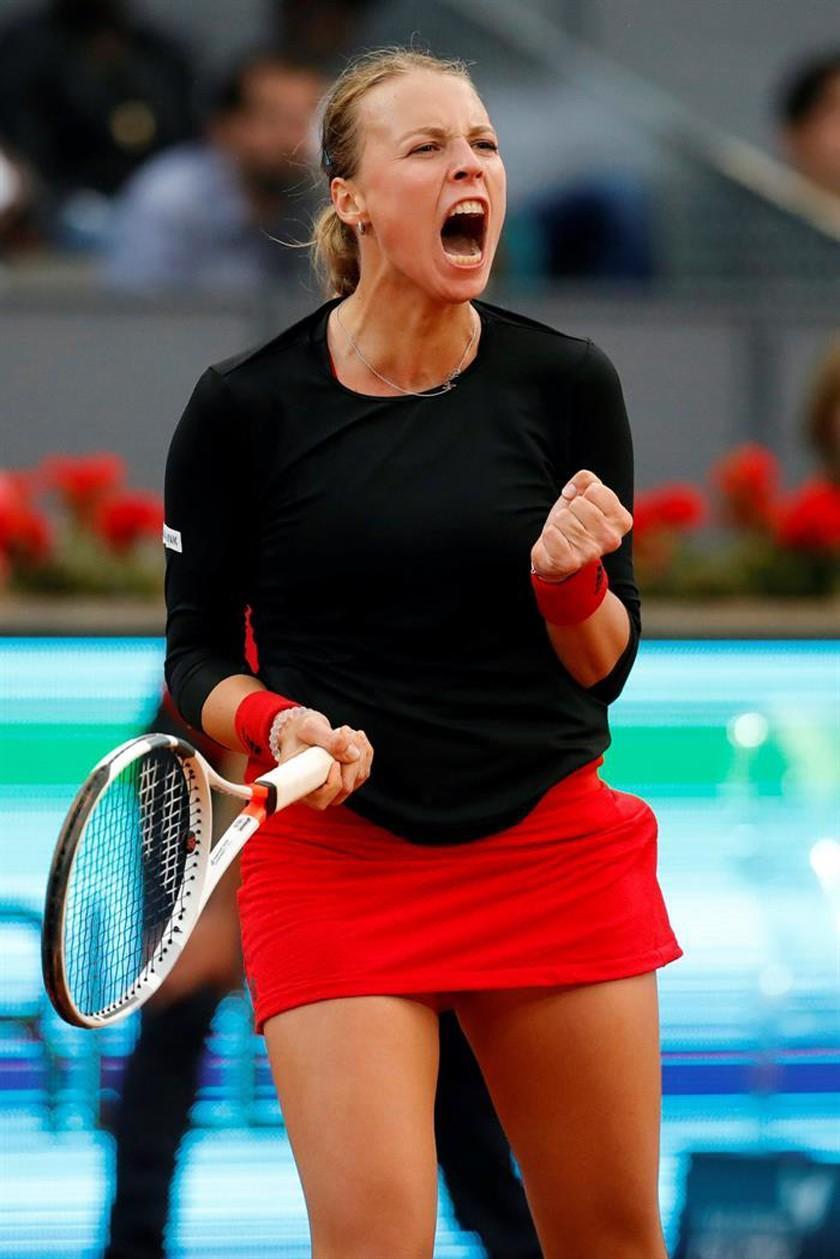 Kontaveit elimina a Venus del Open de Madrid