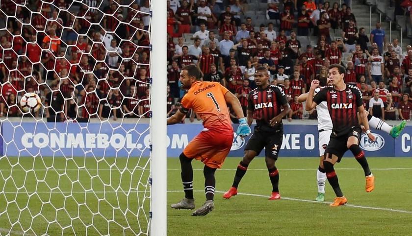 Paranaense pasa a la segunda fase de la Sudamericana