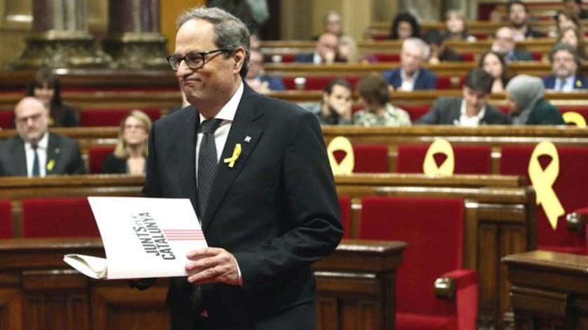 Nombran a independentista como presidente de Cataluña