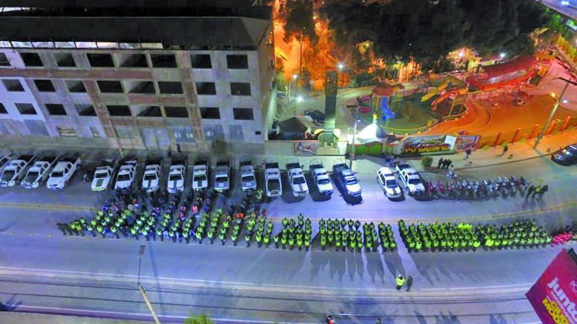 Alistan la parada Policial para aniversario