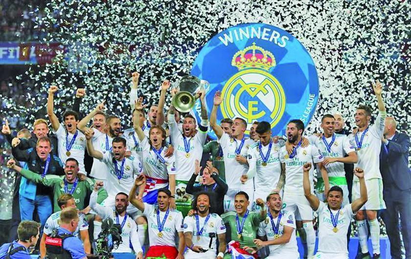 Real Madrid se corona campeón de la Champions
