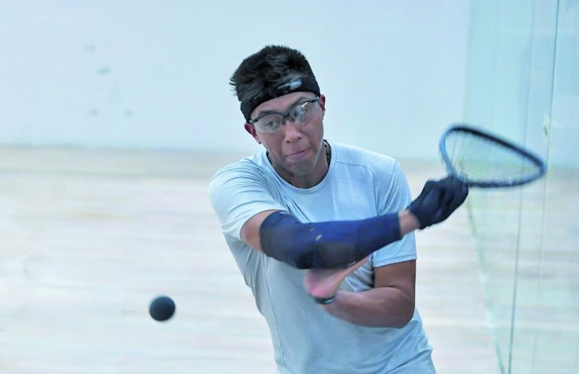 Moscoso vuelve a ganar en el raquetbol