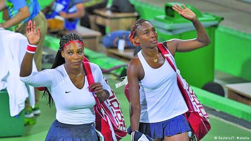 Las hermanas Williams son eliminadas en dobles femeninos de Roland Garros