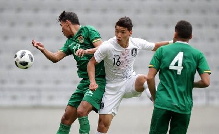 Corea del Sur y Bolivia igualan 0-0 en amistoso