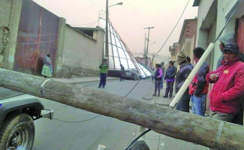 La DGR declara alerta naranja por los fuertes vientos en el distrito