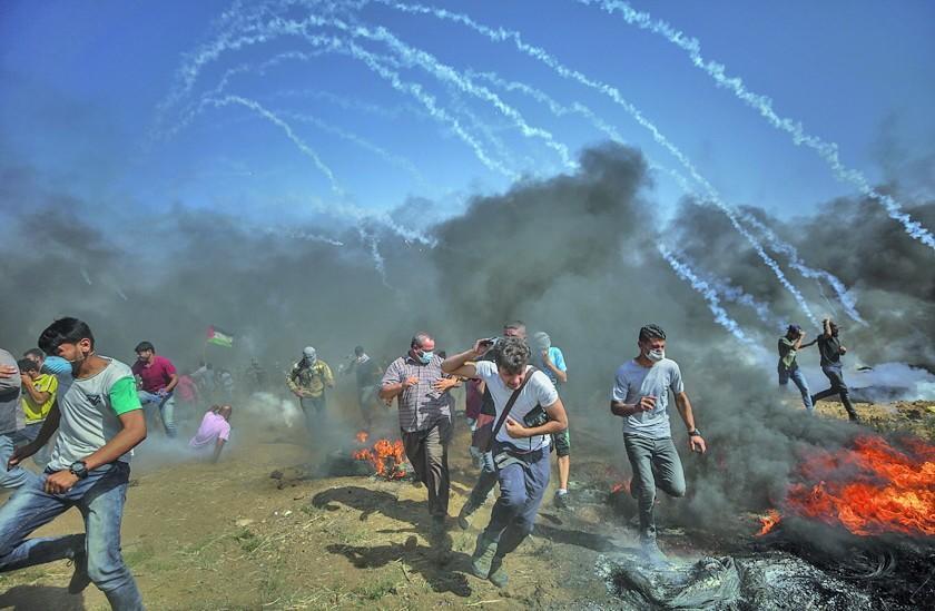 Las nuevas protestas en Gaza  dejan cuatro personas fallecidas