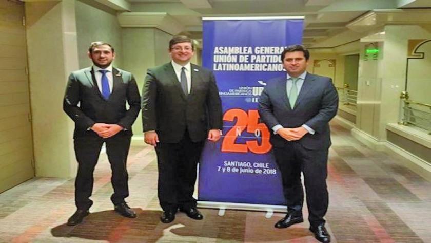 Senador Ortiz preside la Unión de Partidos Latinoamericanos