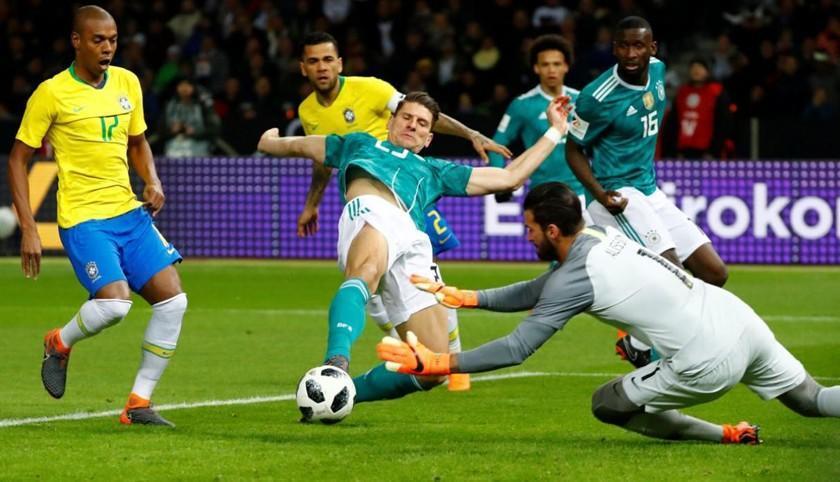 Alemania y Brasil partirán como favoritos al título en Rusia 2018