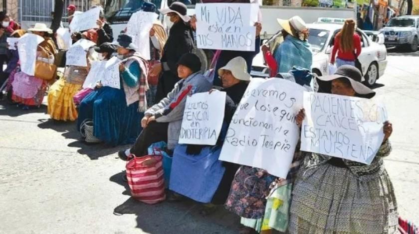 Los pacientes con cáncer iniciarán huelga de hambre