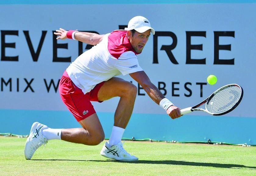 Djokovic llega a su segunda semifinal