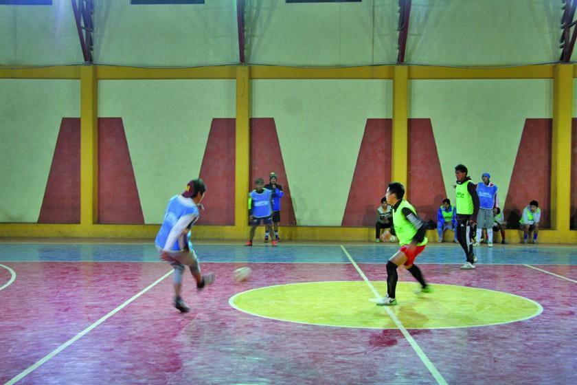 Concepción intensifica su trabajo pensando en su debut en la Liga de futsal