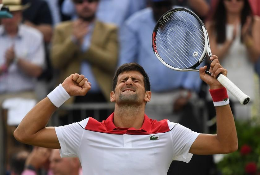 Djokovic buscará hoy el título en Queen's