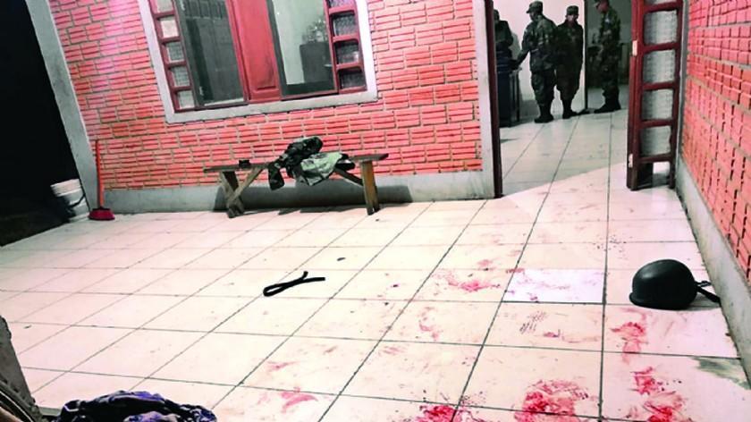 Trasladan a La Paz a tres acusados del asalto a un puesto militar fronterizo