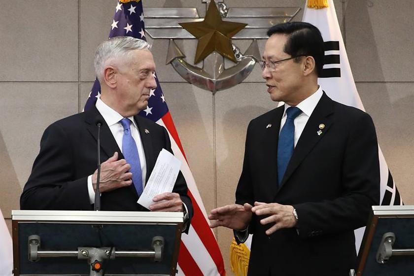 EE.UU. mantendrá presencia de militares en Corea del Sur