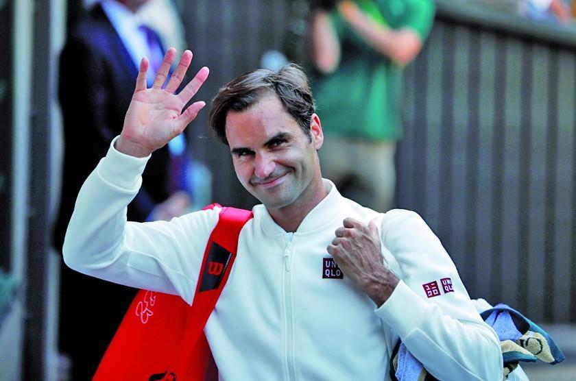 Federer y Serena avanzan en Wimbledon