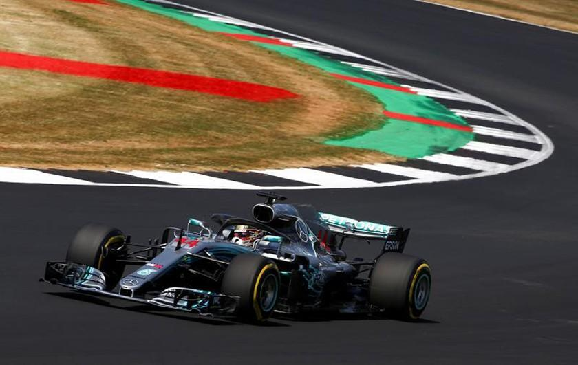 Hamilton gana el primer lugar en GP de Gran Bretaña