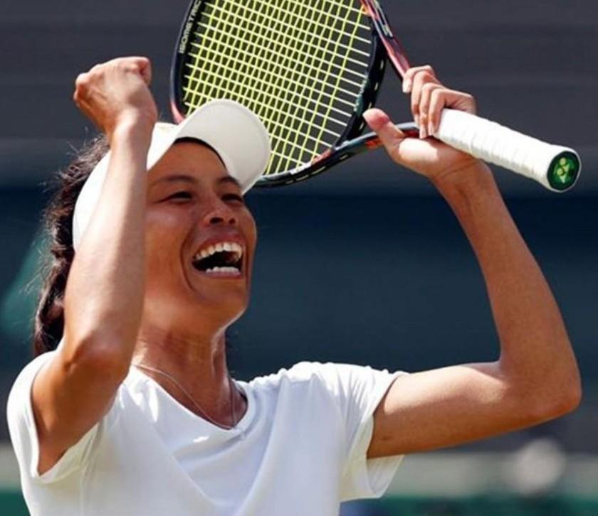 """Hsieh elimina a Halep y deja Wimbledon con una sola """"top 10"""""""
