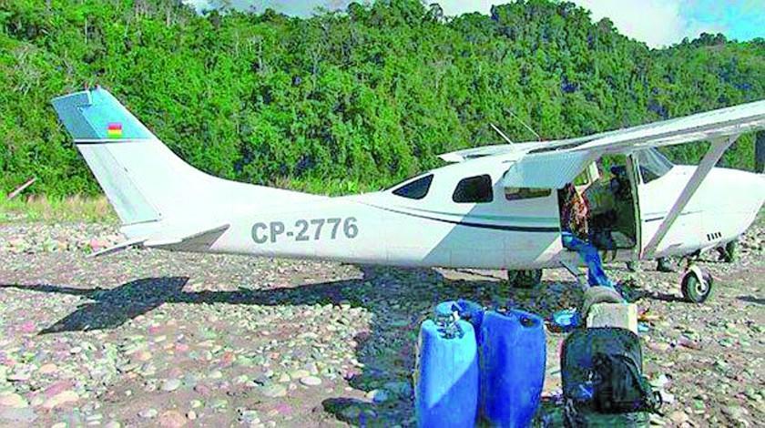 Pilotos cobran entre $us 15 y 20 mil por vuelo con carga de droga