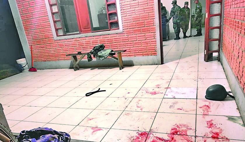 Armas robadas en puesto militar eran para asaltar banco peruano