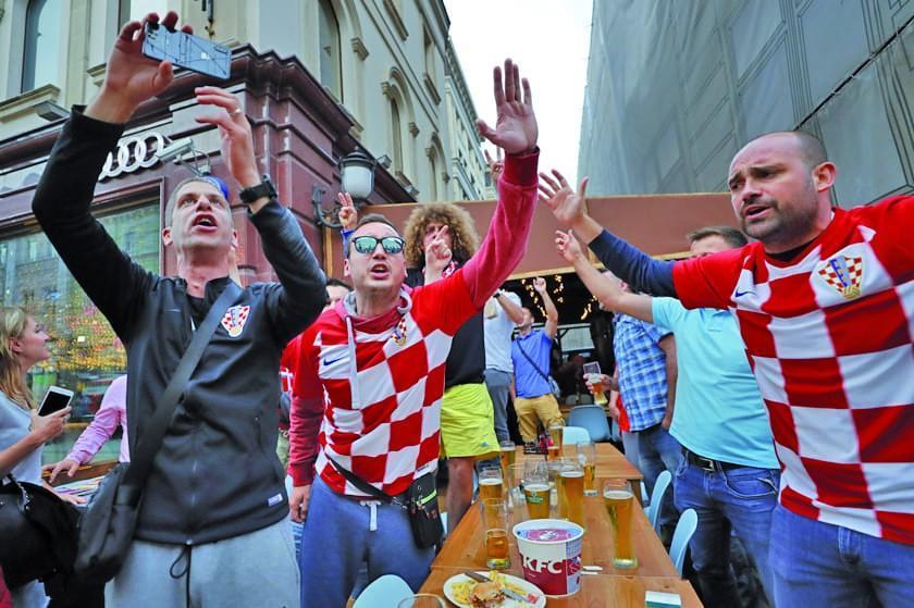 El Mundial cambia la vida cotidiana  de los croatas