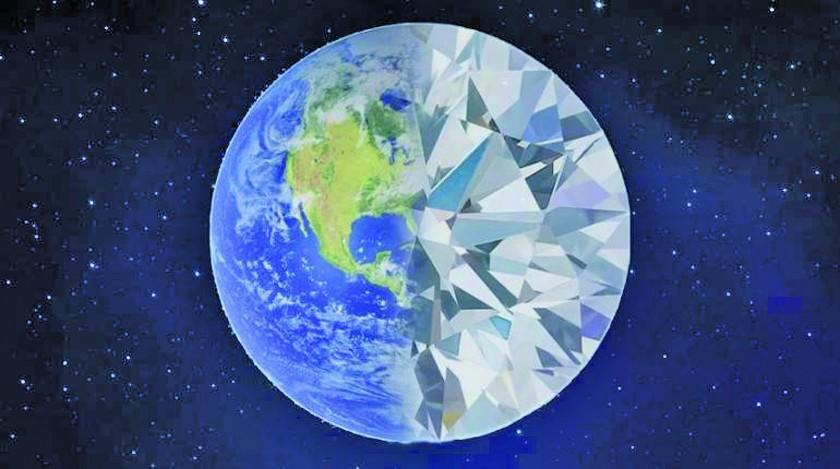 Estudio determina que hay un trillón de diamantes bajo nuestros pies