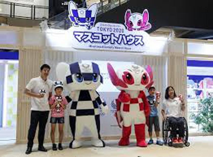 Tokio 2020 presenta a sus mascotas
