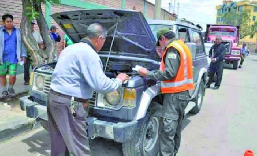Inspección vehicular comienza el 13 de agosto
