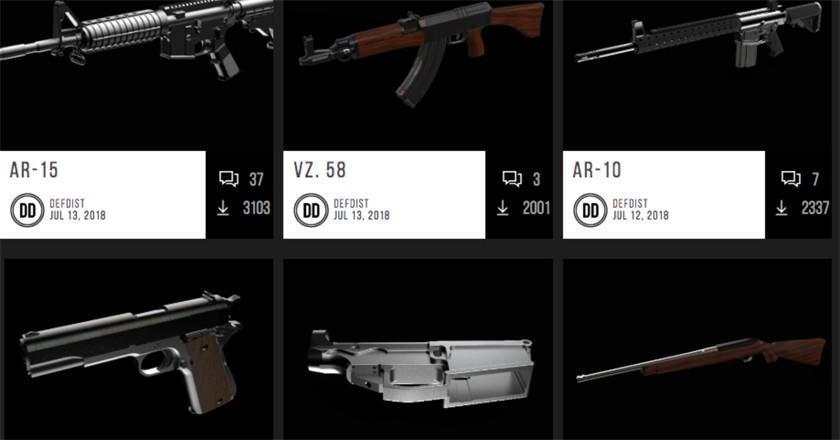 Justicia bloquea un intento para imprimir armas en 3D en EE.UU.