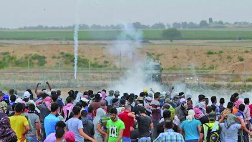 Protestas en Gaza dejan un muerto y decenas de heridos