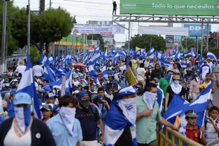 Nicaragua: marcha por la libertad de reos políticos deja un muerto