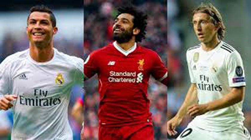 UEFA nomina a Modric, Ronaldo y Salah