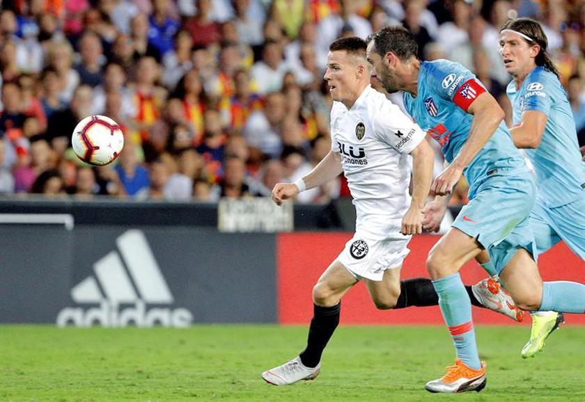 Valencia y Atlético igualaron en un partido intenso y de fuerzas parejas