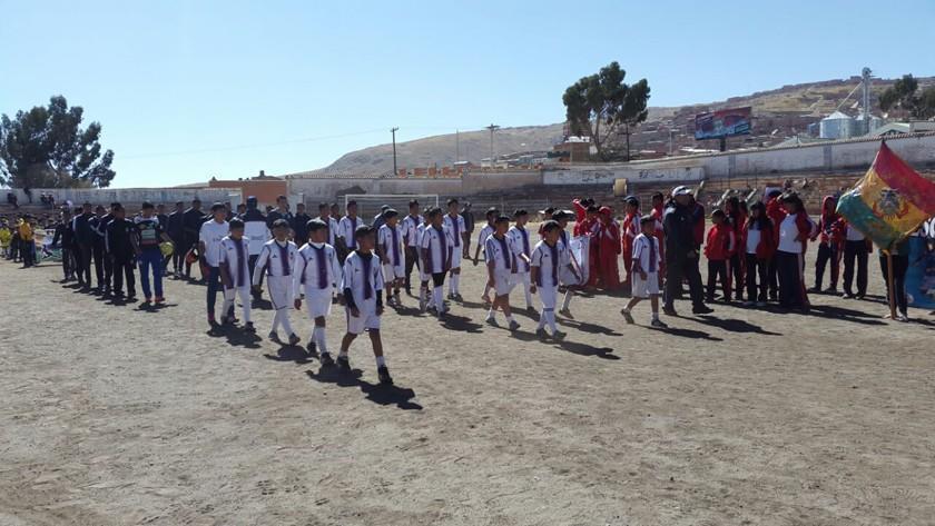 Mañana se inaugura el torneo de las divisiones inferiores de fútbol en Potosí