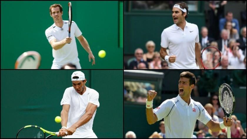 Nadal, Federer, Djokovic y Del Potro coinciden como favoritos en Nueva York