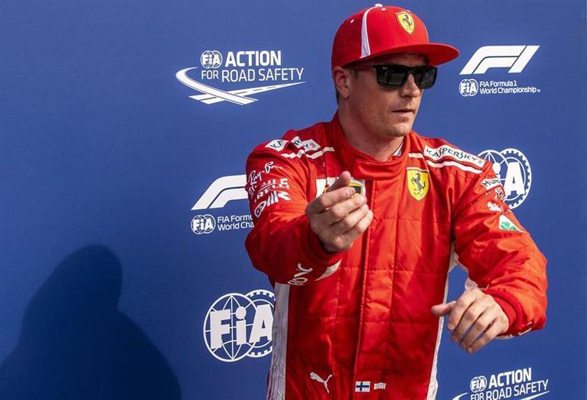 """Raikkonen logra la """"pole"""" en el GP de Italia"""