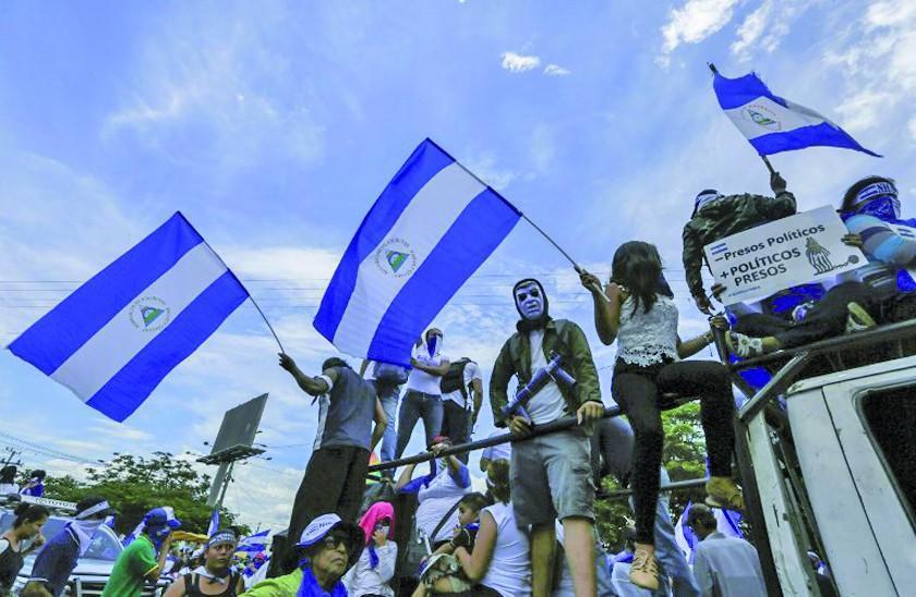Tiroteo en manifestación contra Ortega deja un herido en Managua