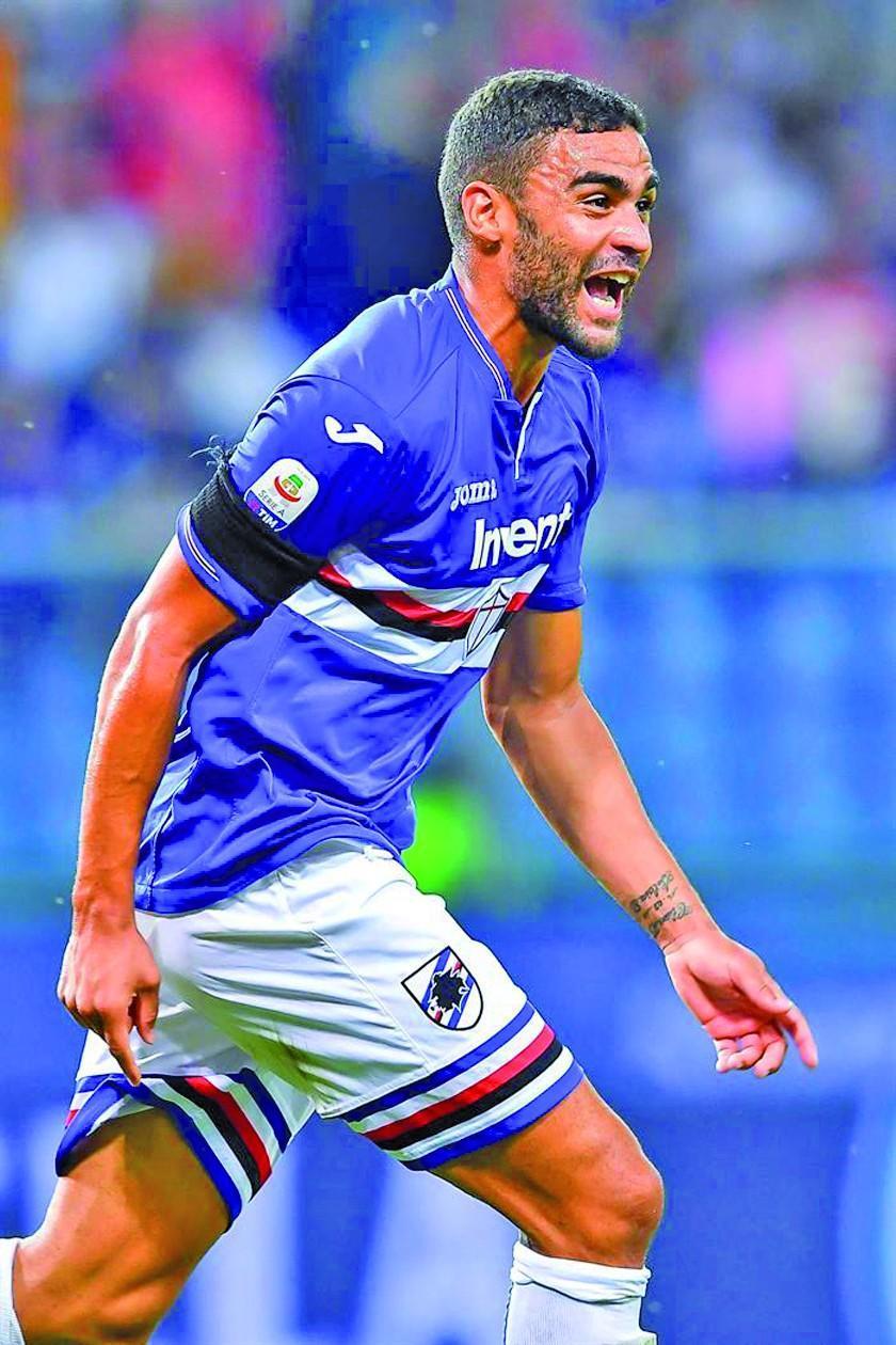 Sampdoria gana a Nápoles en la tercera fecha de la Serie A italiana