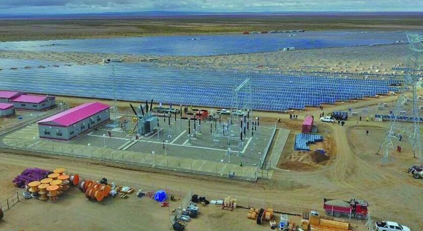 Se inaugura en Potosí la planta fotovoltaica más grande de Bolivia